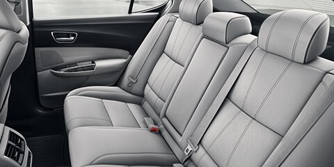 2018 Acura TLX Heated Rear Seats