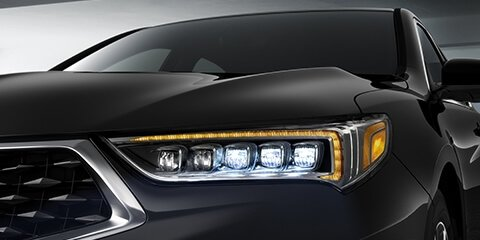 2018 Acura TLX Jewel Eye LED Headlights