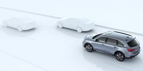2018 Acura MDX Collision Mitigation Braking System