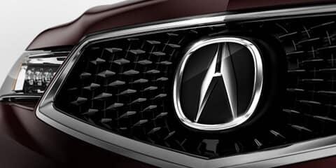 2018 Acura MDX Diamond Pentagon Grille