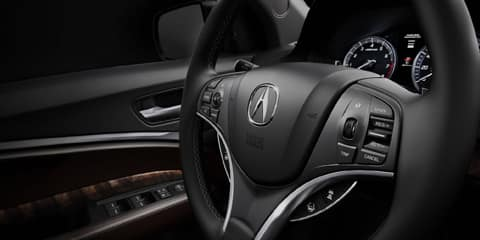 2018 Acura MDX Sequential SportShift Paddle Shifters