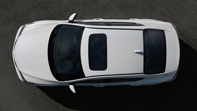 2018 Acura ILX Overhead Angle