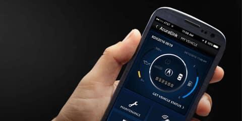 2018 Acura ILX AcuraLink App