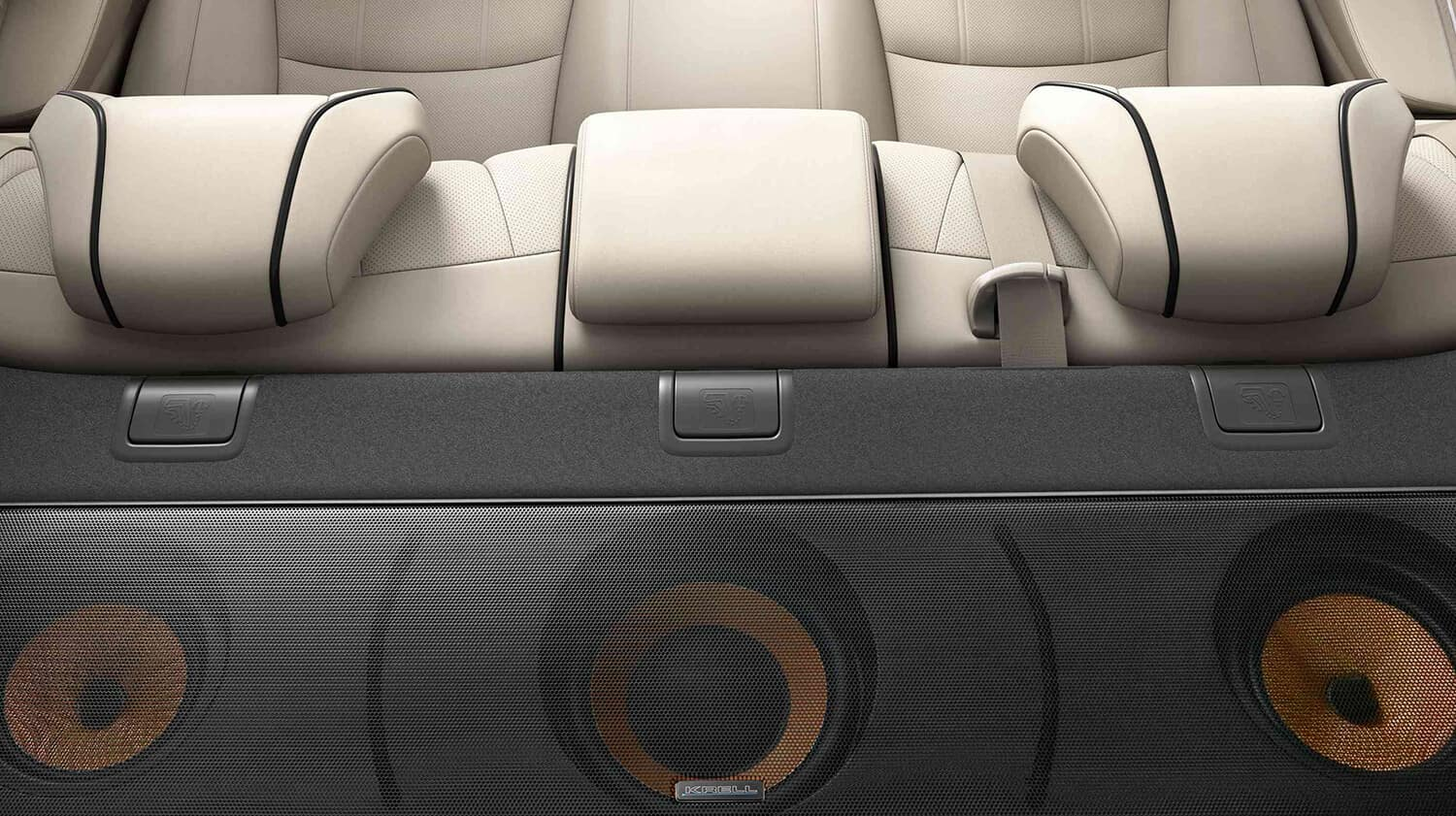 2018 Acura RLX Interior Audio System