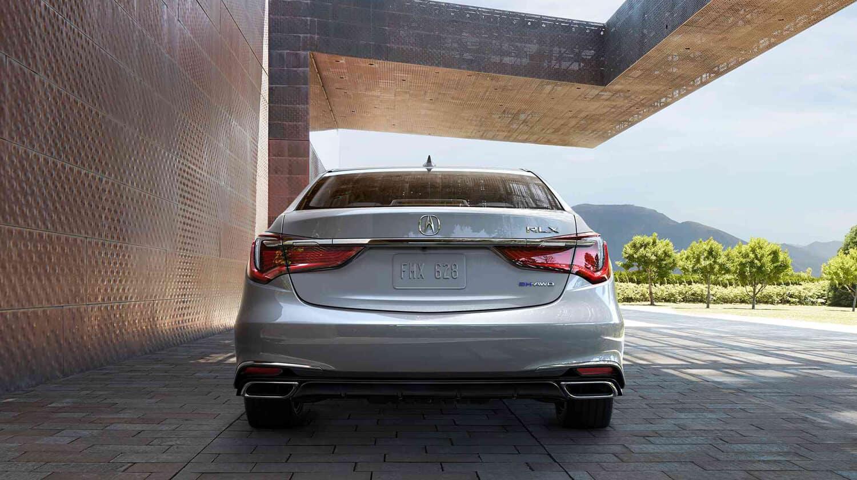 2018 Acura RLX Exterior Rear Angle
