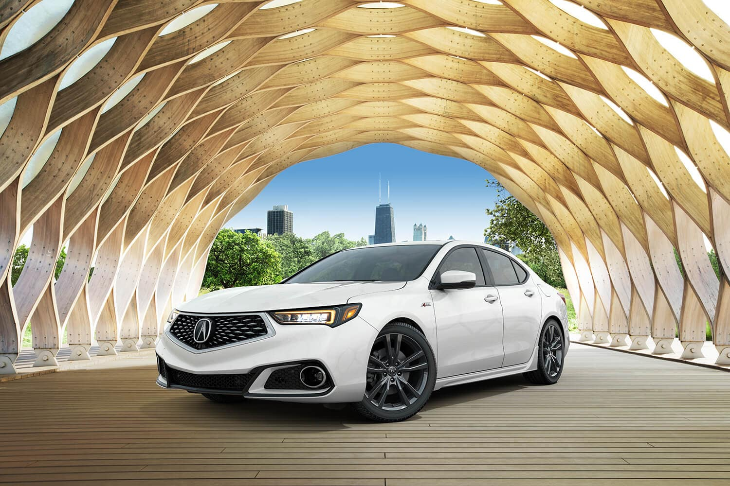2019 Acura TLX Exterior City Driver Side