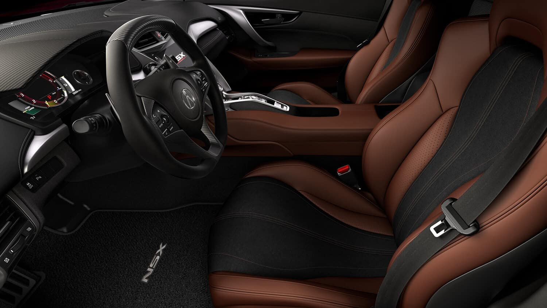 2018 Acura NSX Interior Cockpit Driver Side