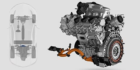 2018 Acura NSX Direct Drive Motor