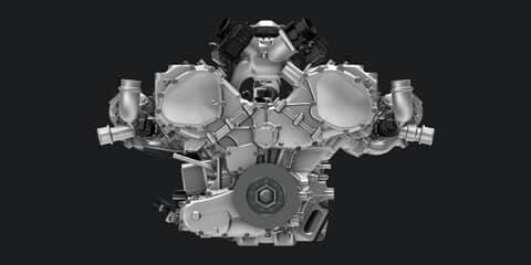 2018 Acura NSX Engine