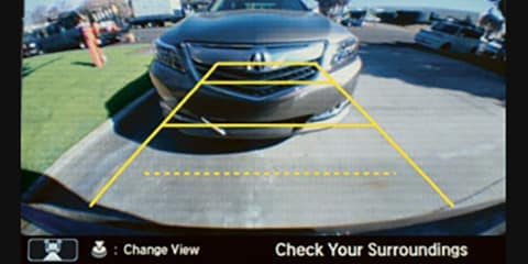 2018 Acura NSX Multi-Angle Rearview Camera
