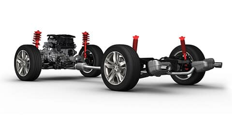 2019 Acura RDX Adaptive Damper System