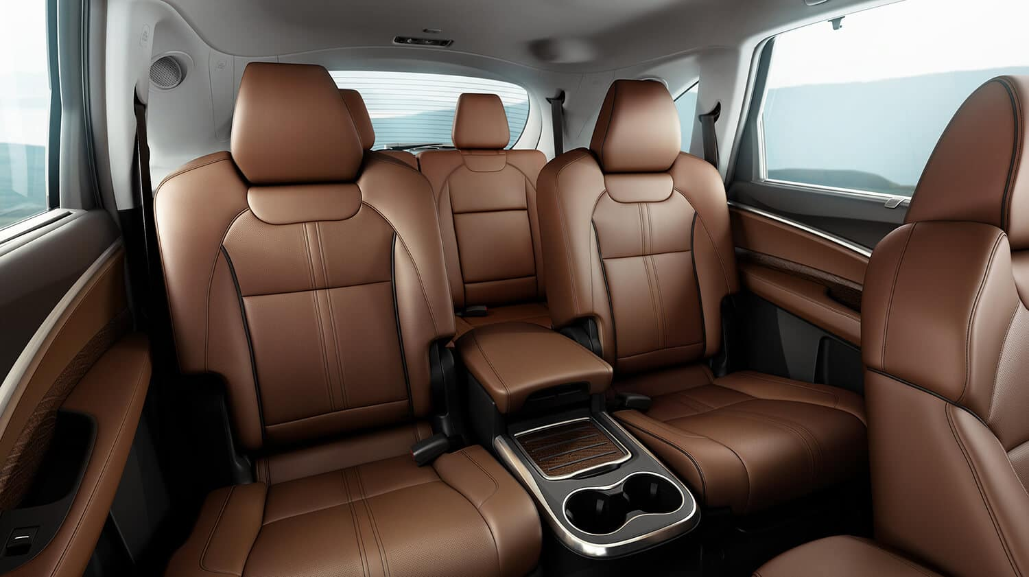 2019 Acura MDX Interior Three-Row Seating