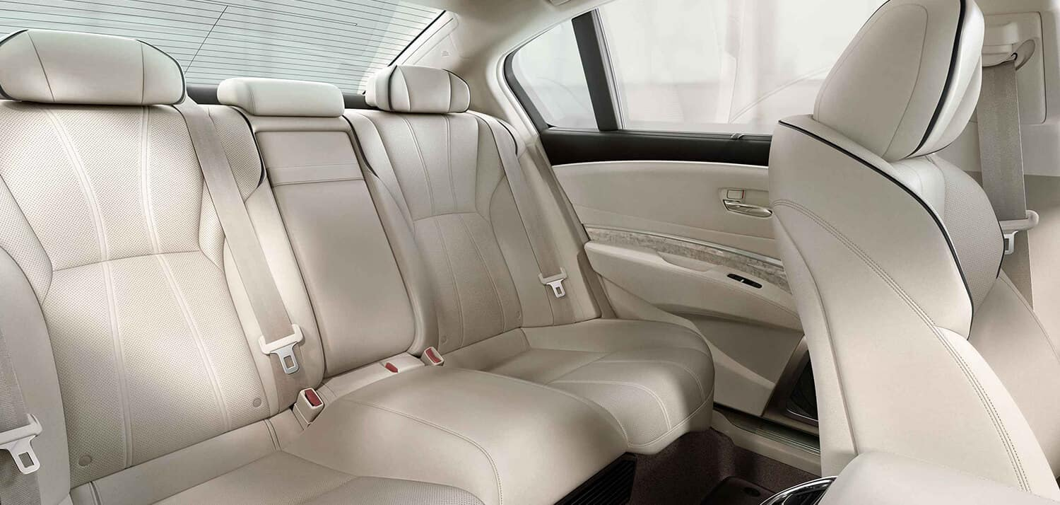 2019 Acura RLX Interior Rear Seating