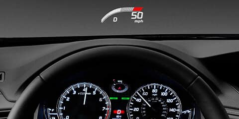 2019 Acura RLX Head-Up Display