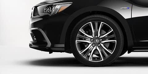 2019 Acura RLX Sport Contrast Wheels