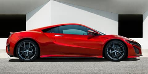 2019 Acura NSX Exterior Side Profile Design