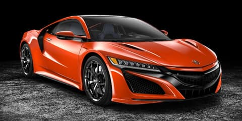 2019 Acura NSX Thermal Orange Pearl Paint Color