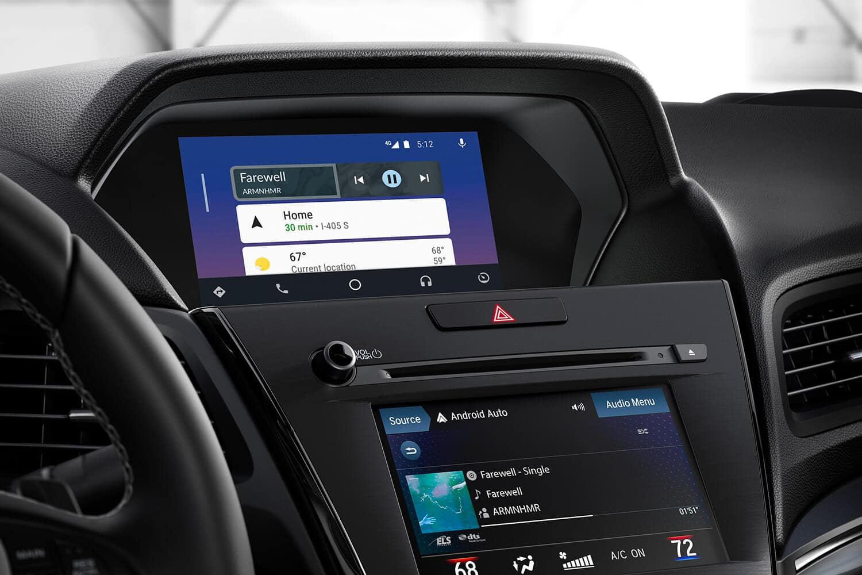 2019 Acura ILX Interior Infotainment Stack