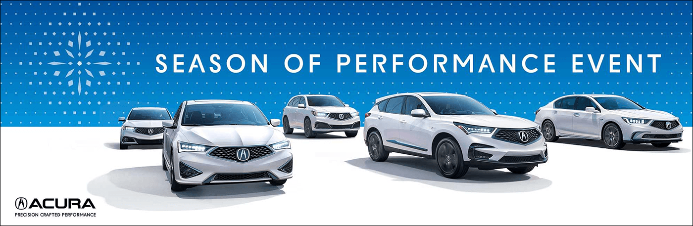 2018 Acura Season of Performance Event from Your Rocky Mountain Acura Dealers