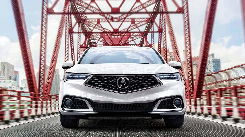 2020 Acura TLX Exterior Front Grille Bridge