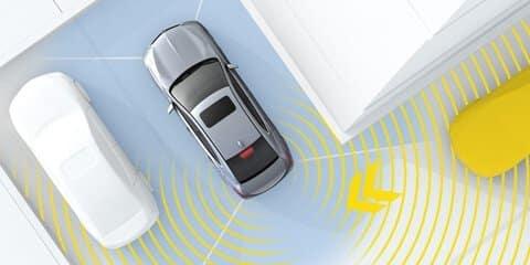 2020 Acura TLX Rear Cross Traffic Monitor