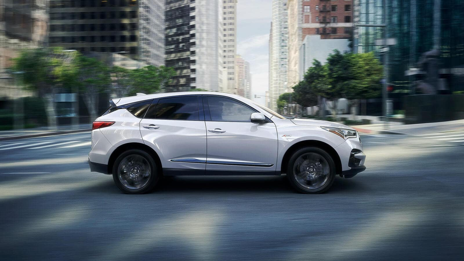 2020 Acura RDX Exterior Side Profile White