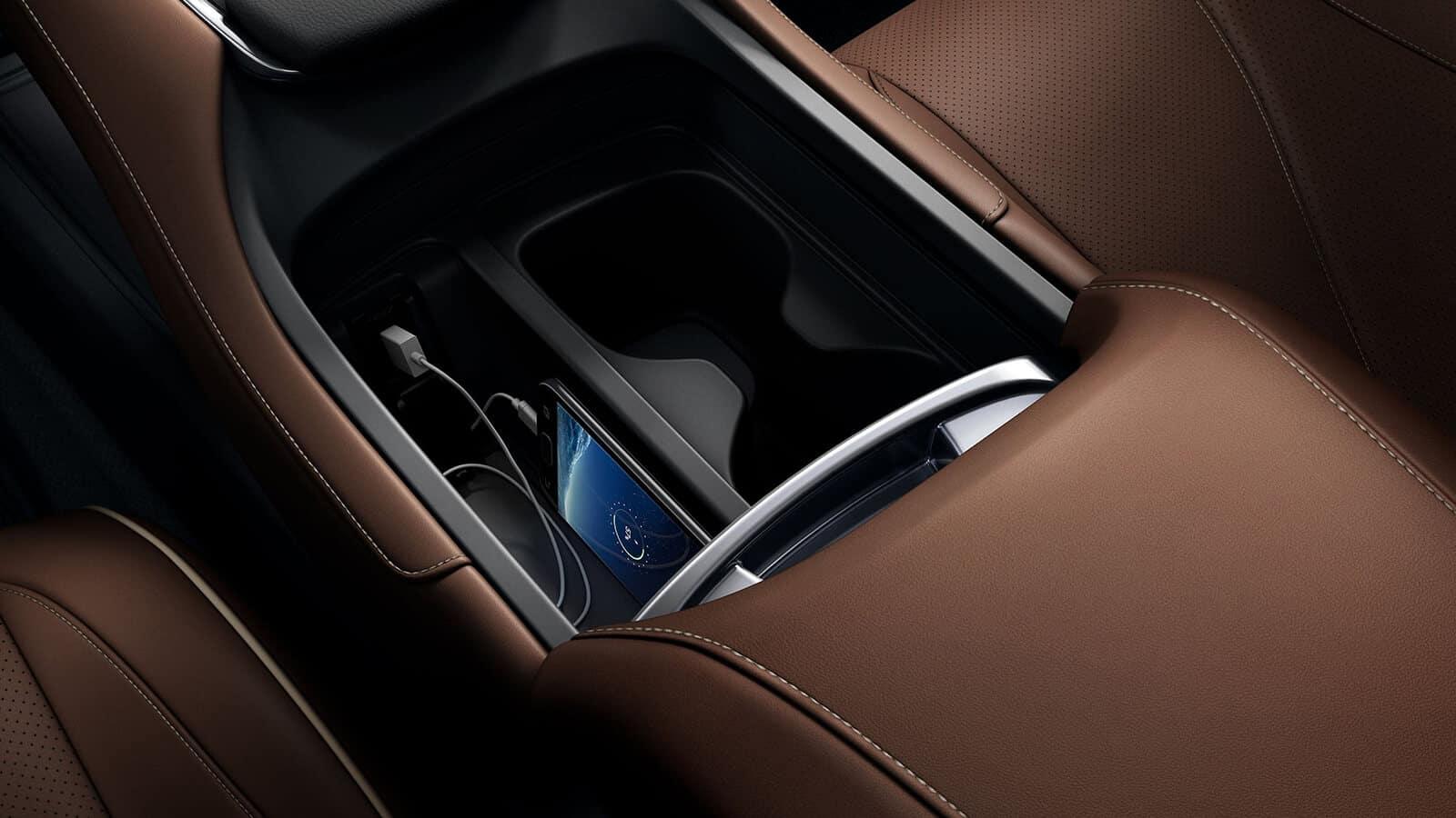 2020 Acura RDX Interior Center Console Functionality