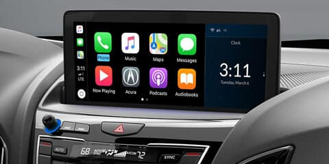 2020 Acura RDX Apple CarPlay Integration