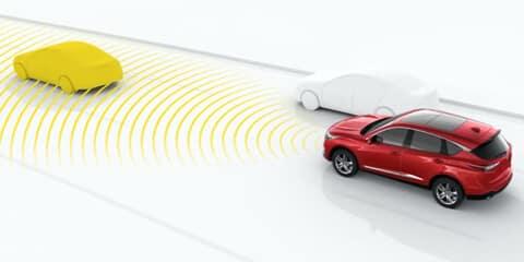 2020 Acura RDX Collision Mitigation Braking