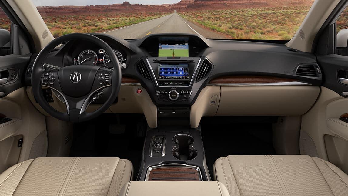 2020 Acura MDX Interior Front Cabin