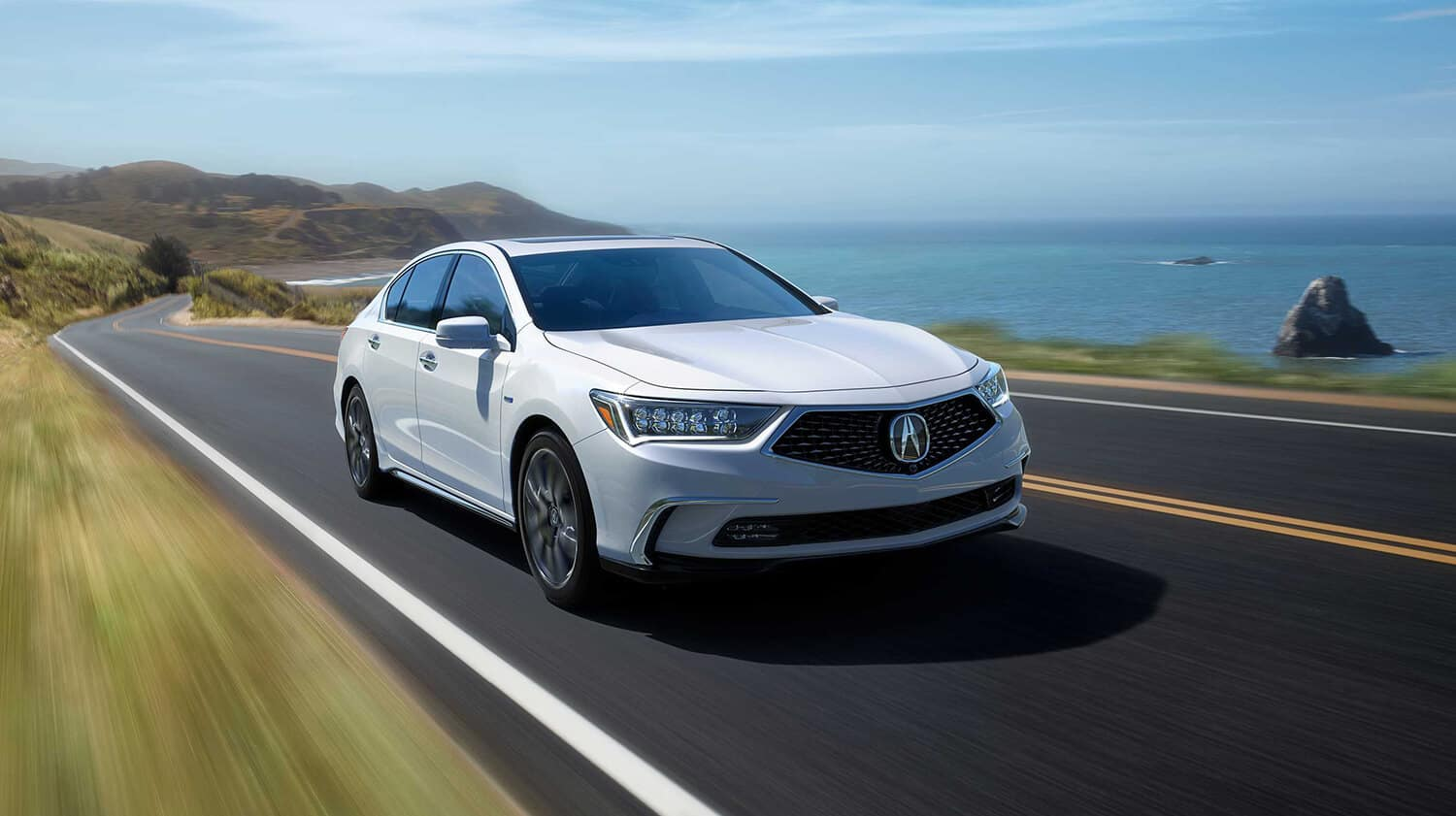 2020 Acura RLX Exterior Front Angle Passenger Side