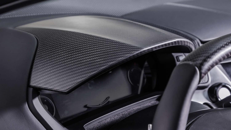 2020 Acura NSX Interior Dash Material Closeup