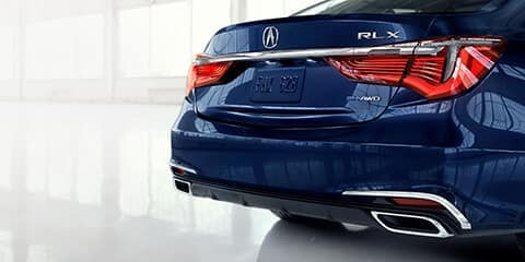2020 Acura RLX Rear Design