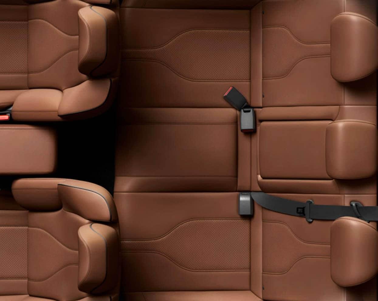 2020 Acura ILX Interior Seating Overhead Angle