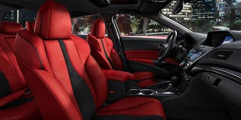 2020 Acura ILX A-Spec Interior