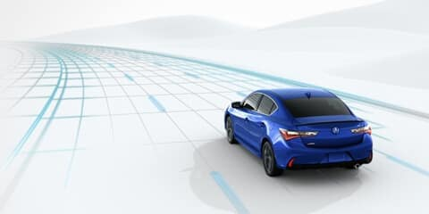 2020 Acura ILX Road Departure Mitigation System