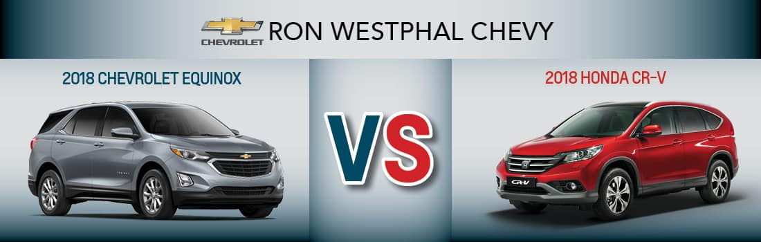 2018 Honda CR-V vs 2018 Chevrolet Equinox