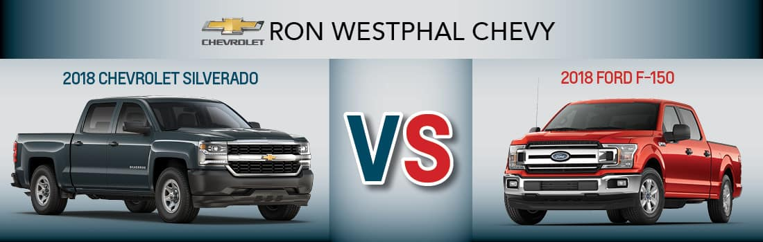 2018 Ford F-150 vs 2018 Chevrolet Silverado
