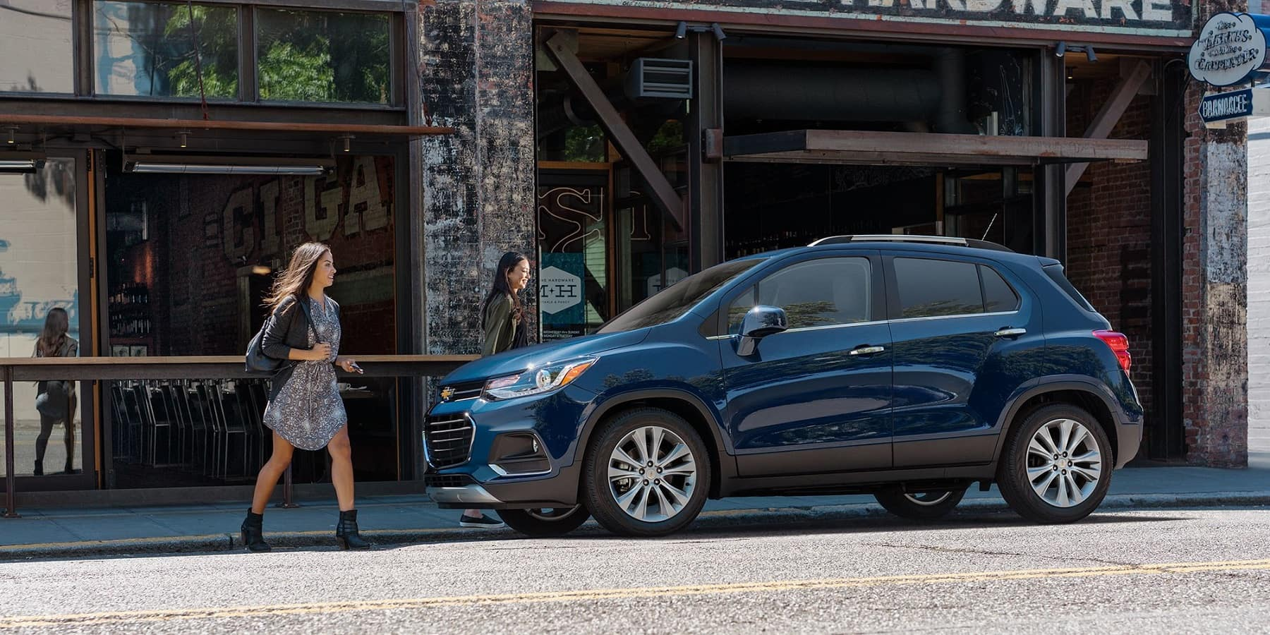2018 New Chevy Trax Exterior