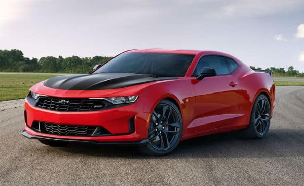 2019 Chevy Camaro red and black Ron Wesphal Chevy Lisle, IL