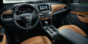 New Chevrolet Equinox interior geneva, IL Ron Westphal Chevy