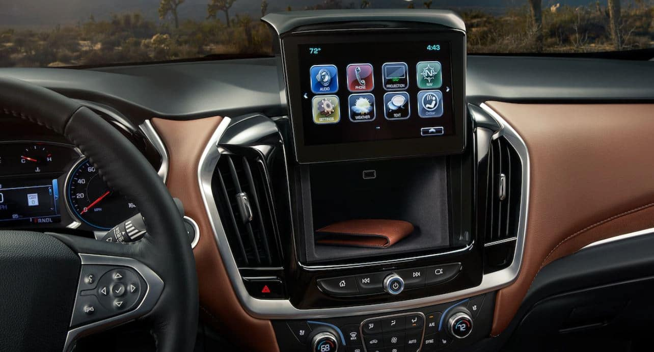 2019 Chevrolet Traverse Technology Features Ron Westphal Chevrolet Naperville, IL