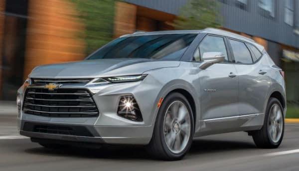 2019 Chevrolet Blazer vs Ford Explorer Exterior Front