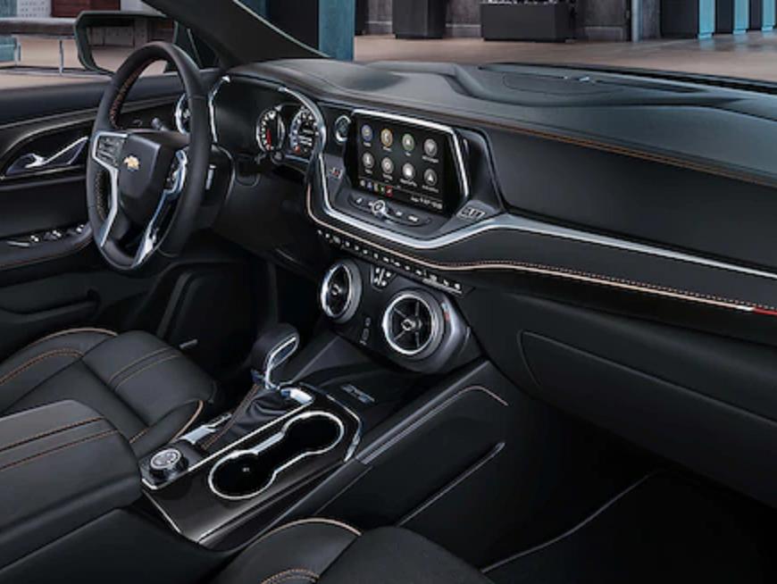 2019 Chevy Blazer vs Ford Explorer Interior Features