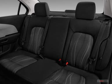 2019 Chevy Sonic Seating Interior