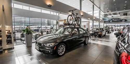 BMW Waiting Room