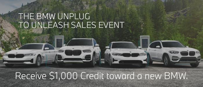 GET AN ADDITIONAL $1,000 CREDIT TOWARDS A NEW BMW
