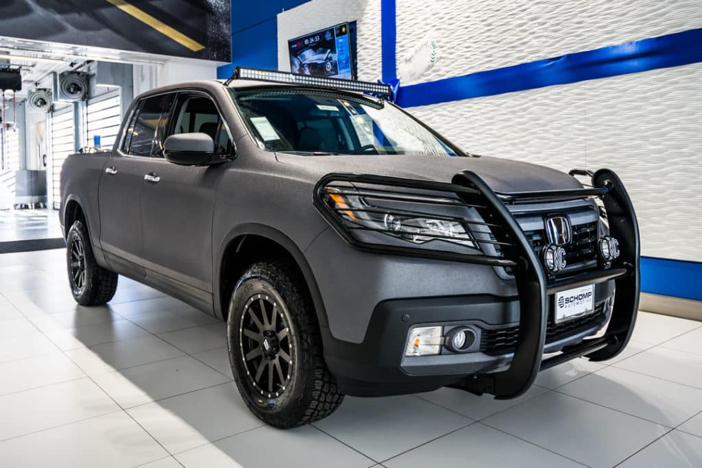Tough But Sophisticated 2018 Honda Ridgeline Rtl E Schomp Honda