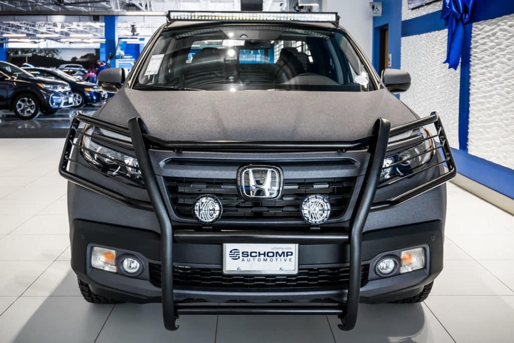 Honda Pilot Towing Capacity >> Tough but Sophisticated: 2018 Honda Ridgeline RTL-E | Schomp Honda