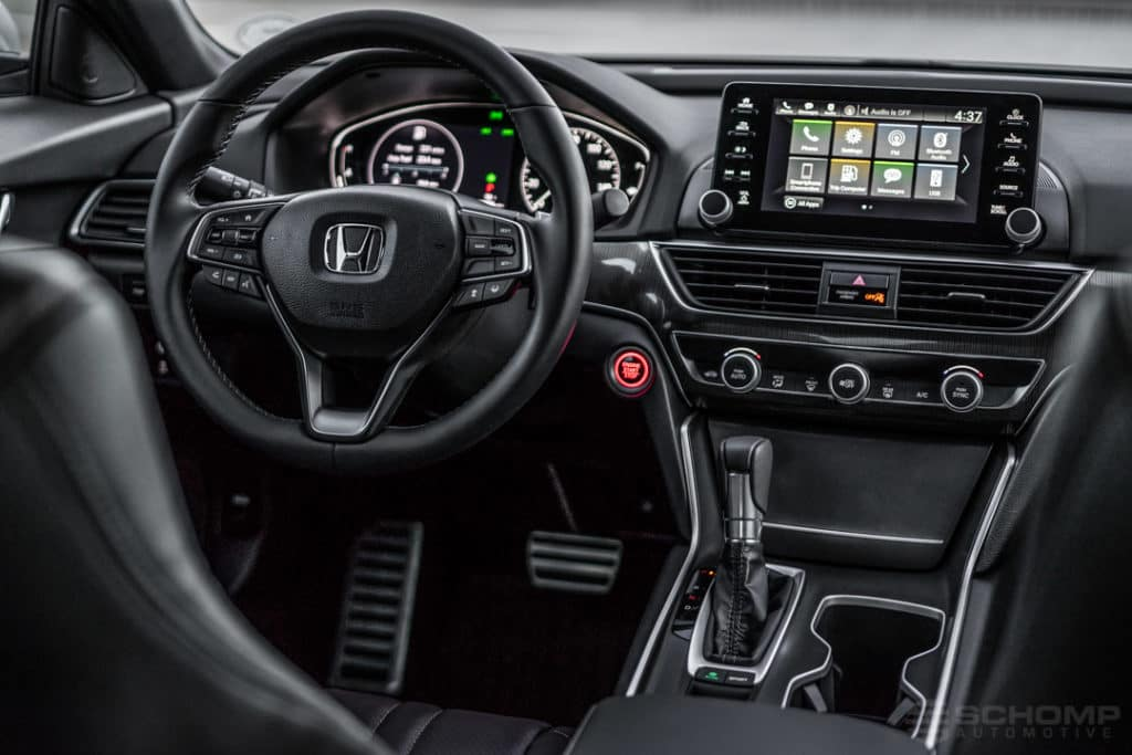 Explore The North American Car Of The Year The 2018 Honda Accord Schomp Honda